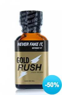gold rush poppers à -50%