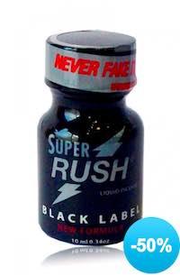 Super Rush Black Label à moitié prix